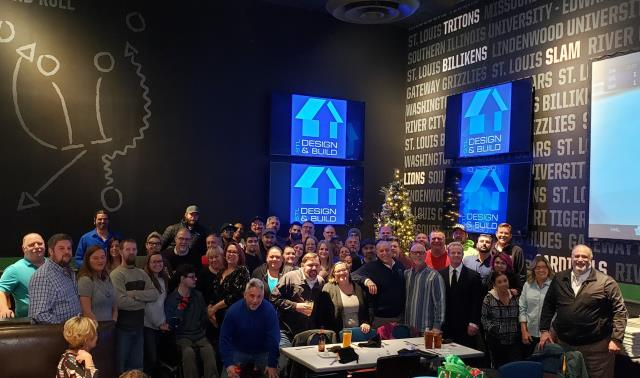 Maryland Heights, MO - Gosh we do parties well!  2019 Holiday party at Dave & Busters,  We continue to grow.  We continue to be blessed.