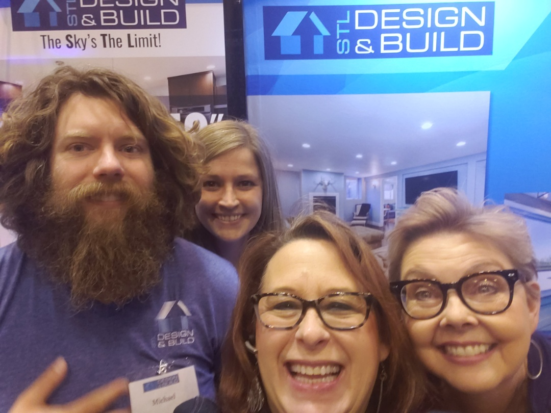 St. Louis, MO - Having fun at the Home Show.   Waiting to meet you and talk about your projects!