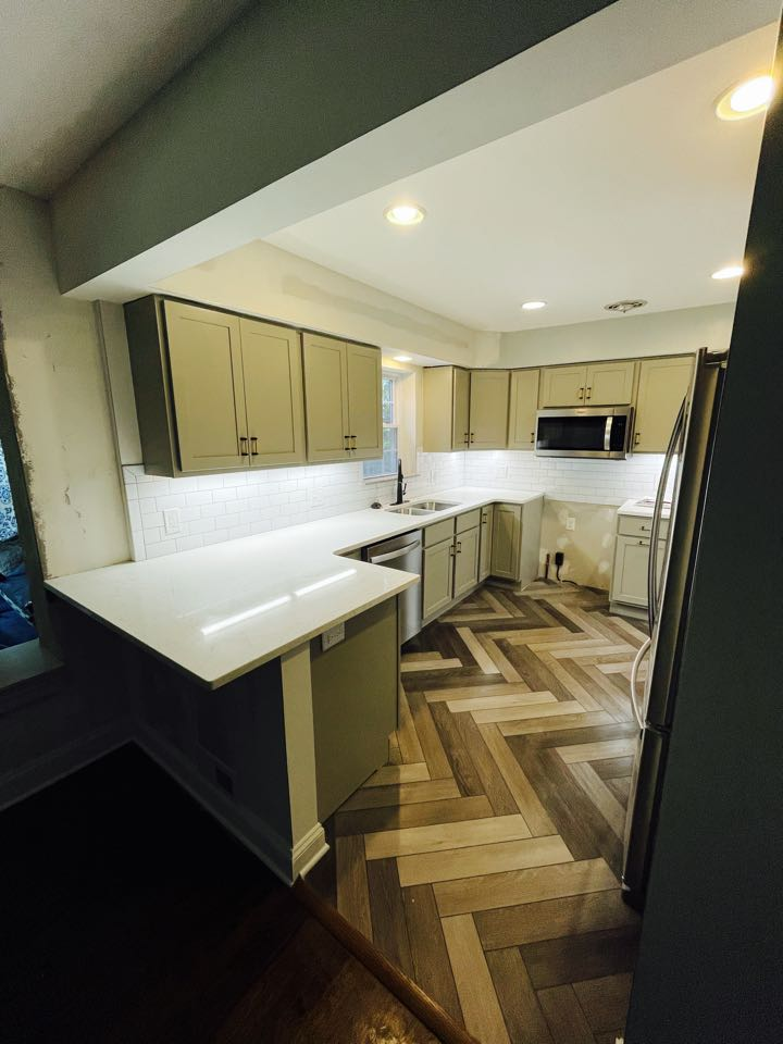 St. Louis, MO - Beautiful kitchen transformation, just passed final inspection and ready to start using again this weekend