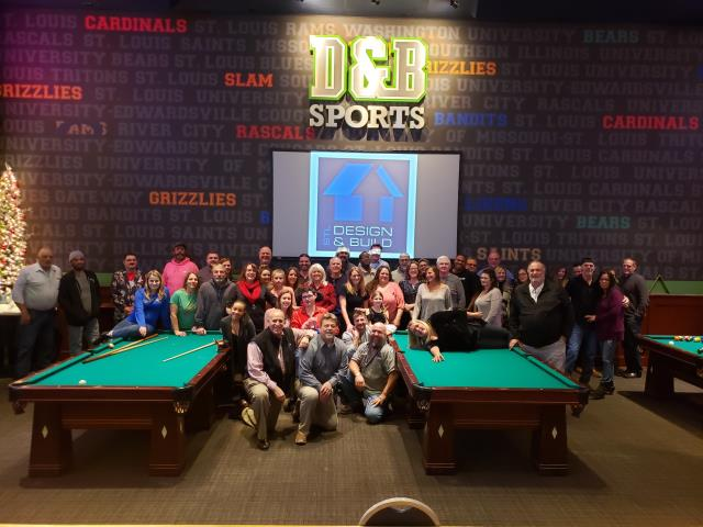 Maryland Heights, MO - Our 2018 STL D&B  Holiday party!  We sure our grateful for our amazing team who likes to work hard and play hard!