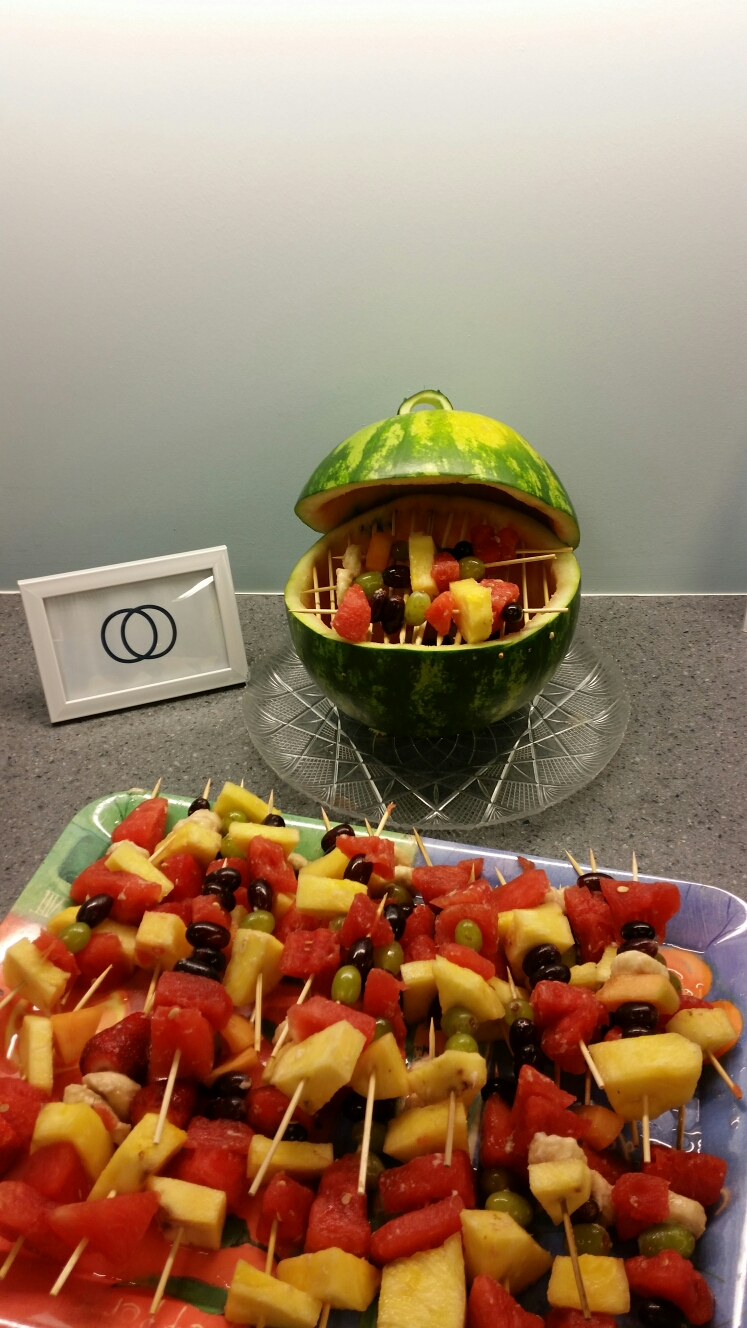 Herndon, VA - Looking forward to enjoying some fresh fruit kabobs with our fabulous clients at our state of the art workspace in Herndon, Virginia!