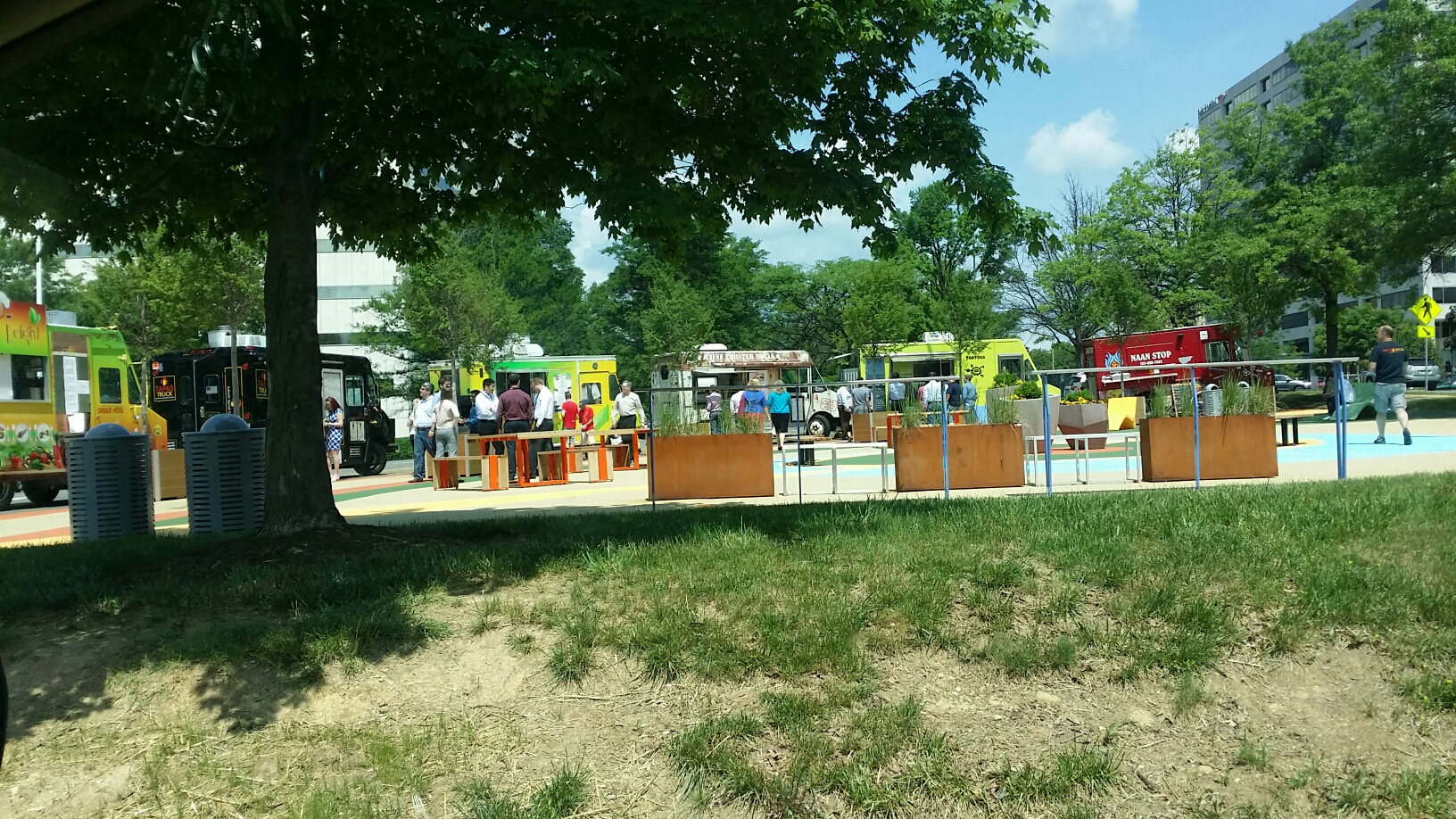 McLean, VA - Another great day for food trucks at Greensboro Station! Lobster roll anyone?