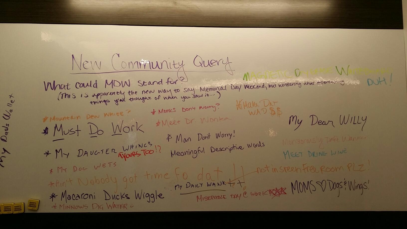 McLean, VA - Having fun with the community whiteboard  # GreensboroCollab