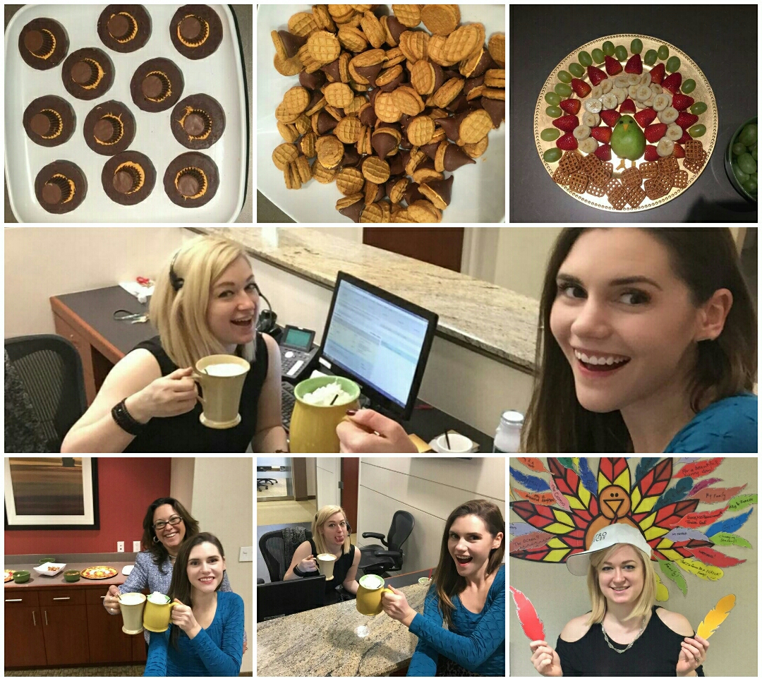 Reston, VA - November was a busy month at our Reston Executive Suites! We look forward to sharing the rest of the holiday season with our wonderful clients!