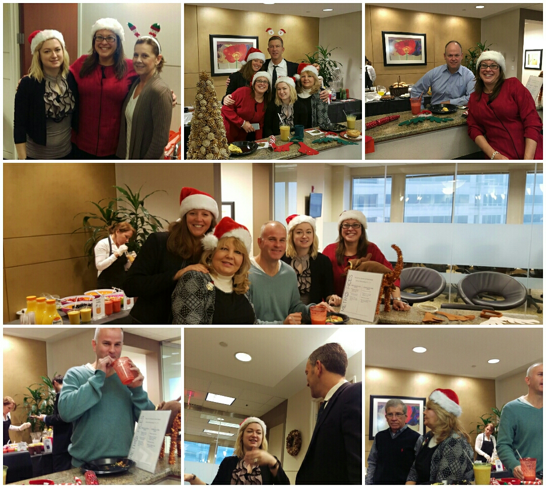Reston, VA - So nice to see so many Reston clients leaving their desks to enjoy our holiday party with us!