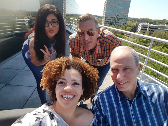 Afternoon break at our Woodland Park Office in Herndon ... Office life with a rooftop?  Yes please! View of Dulles & right off of 267.  Coworking for the win!