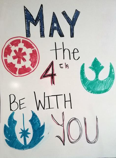 Arlington, VA - Happy #StarWarsDay from Metro Offices in Arlington, VA! It may seem like choosing between a private or virtual office is as fraught as the struggle between Light and Dark, but never fear--the Force is an ally of the Ballston Team, and what a powerful ally it is!