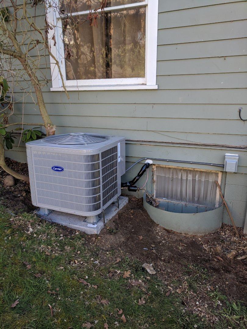 Tacoma, WA - Single stage heat pump