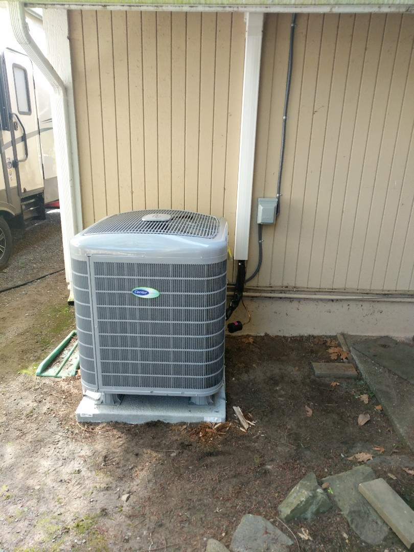 Gig Harbor, WA - Heat pump