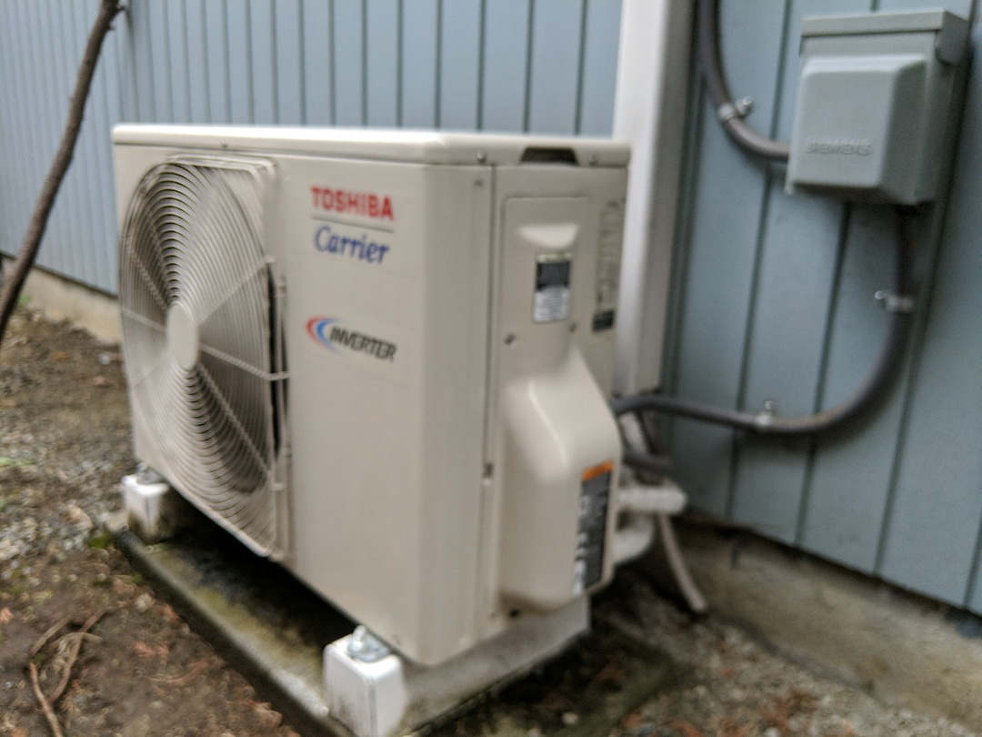 Spanaway, WA - Ductless heat pump fall maintenance.