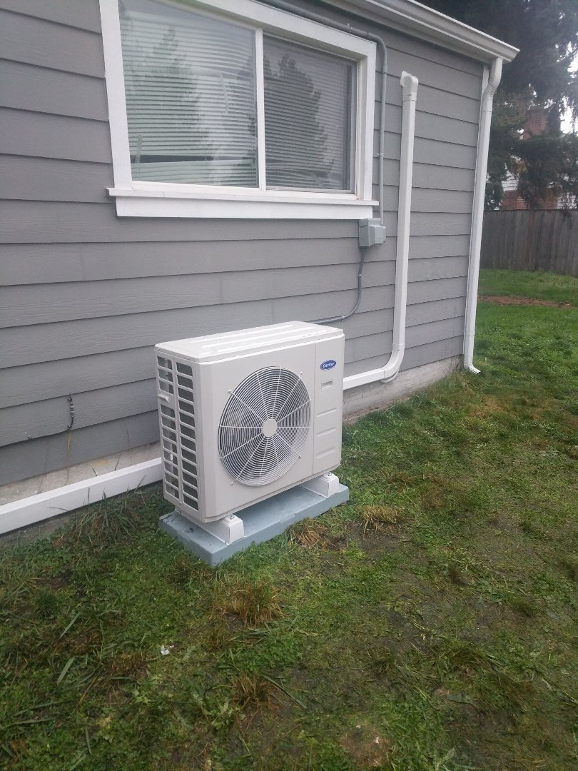 Tacoma, WA - 4head ductless heat pump