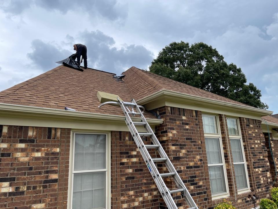 Memphis, TN - Ridge vent install