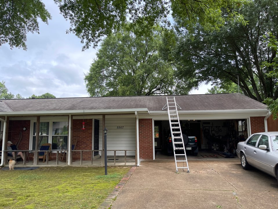 Memphis, TN - New roof inspection in Memphis