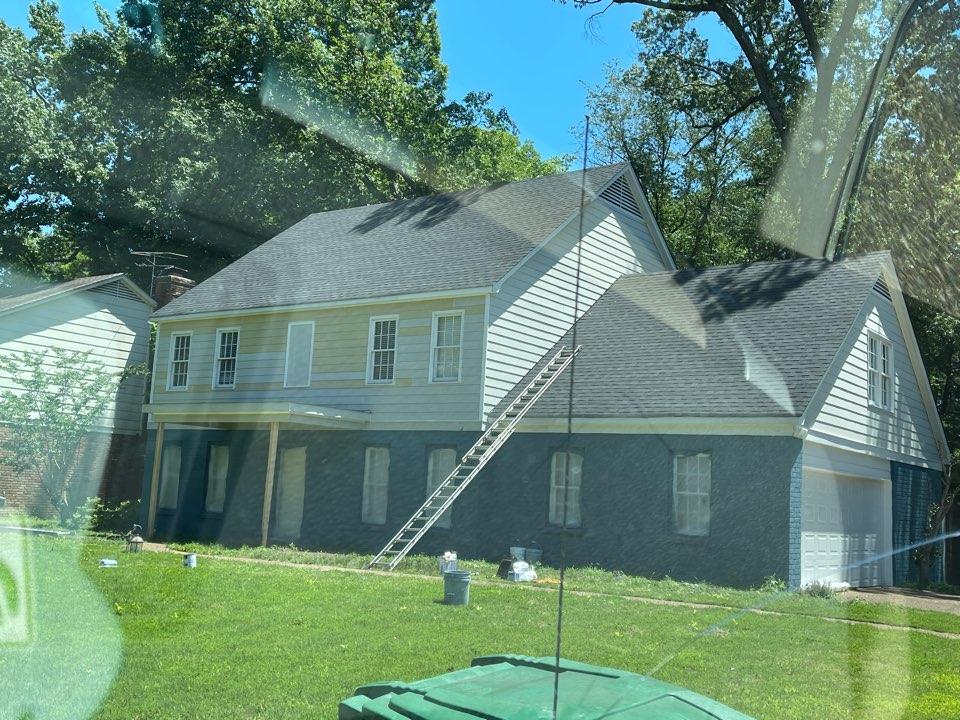 Memphis, TN - Paintings exterior