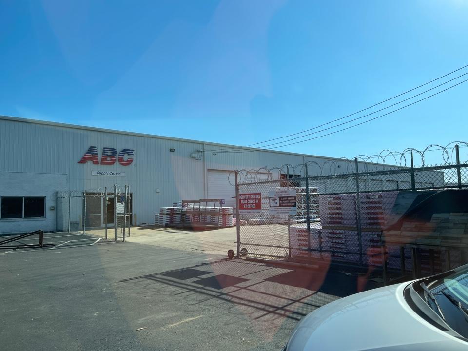Memphis, TN - ABC airways picking up drip edge
