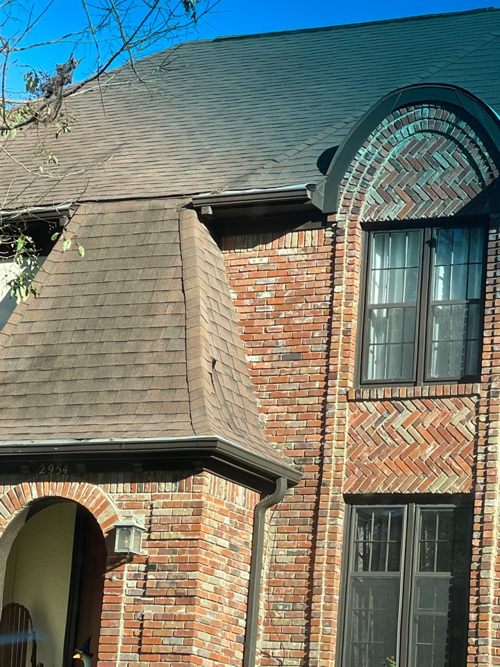 Germantown, TN - We have been called out to inspect the roof and provide a free quote. We offer the highest warranty shingles on the market.