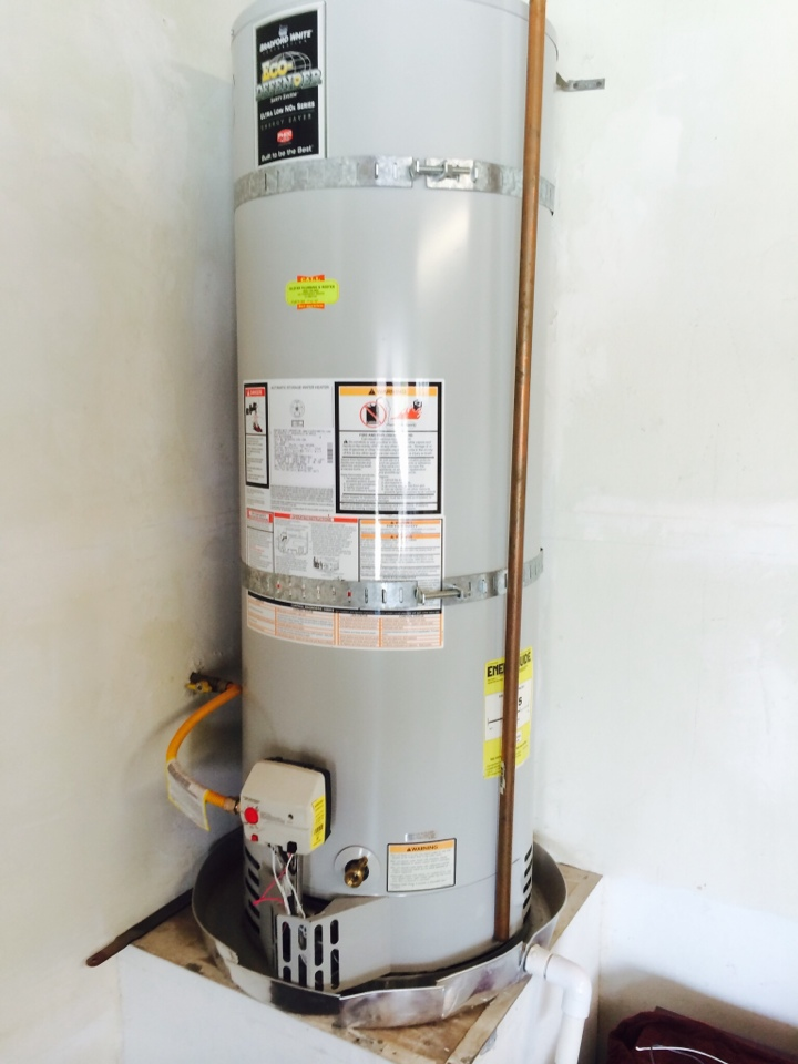 Rancho Cucamonga, CA - Bradford White water heater warranty repair in Alta Loma
