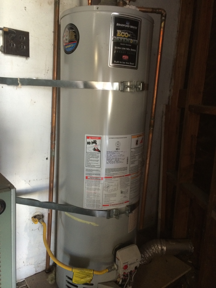 Hacienda Heights, CA - Installed a new gas control valve and replaced a pilot assembly on a Bradford White water heater in Hacienda Heights.