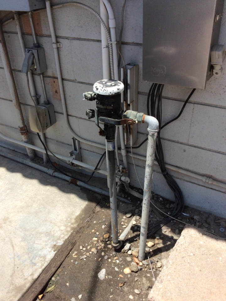 Irwindale, CA - Annual testing and certification of one backflow device. Watts model 800, 1 inch