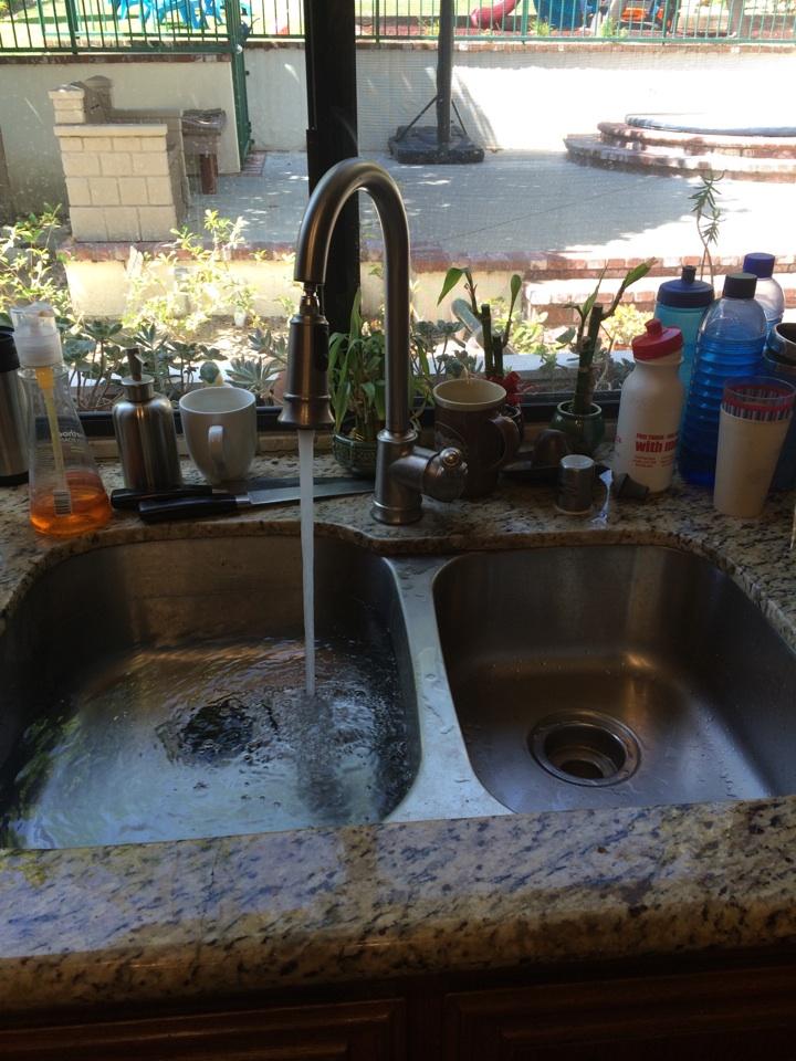 Sierra Madre, CA - Kitchen sink drain cleaning