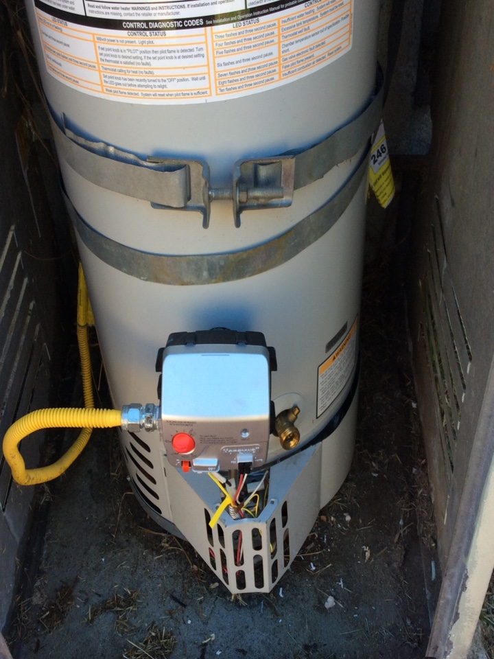 San Gabriel, CA - Bradford white water heater warranty repair