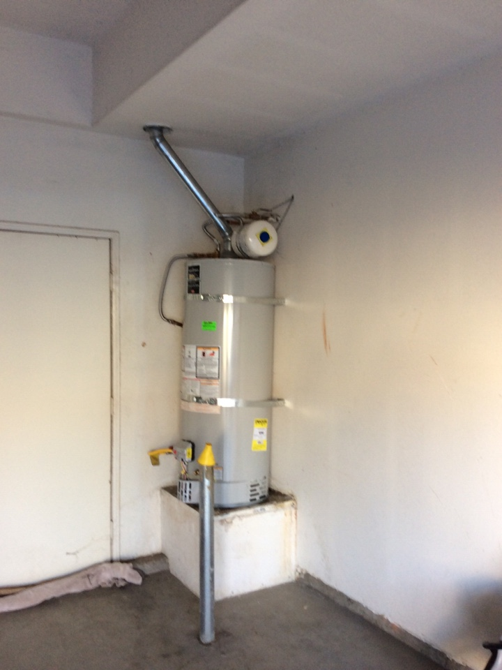 Chino Hills, CA - Water heater repair and installation of expansion tank