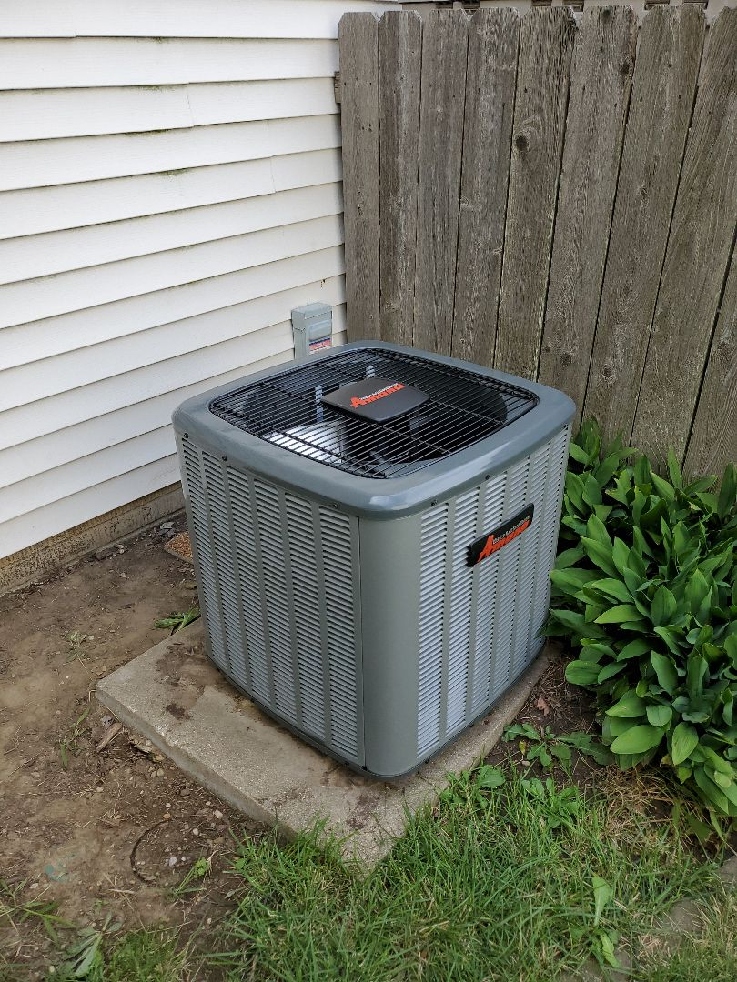 Normal, IL - Install amana ac system