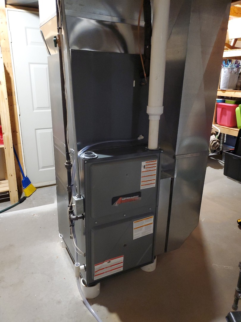 Bloomington, IL - Install new amana furnace and ac system