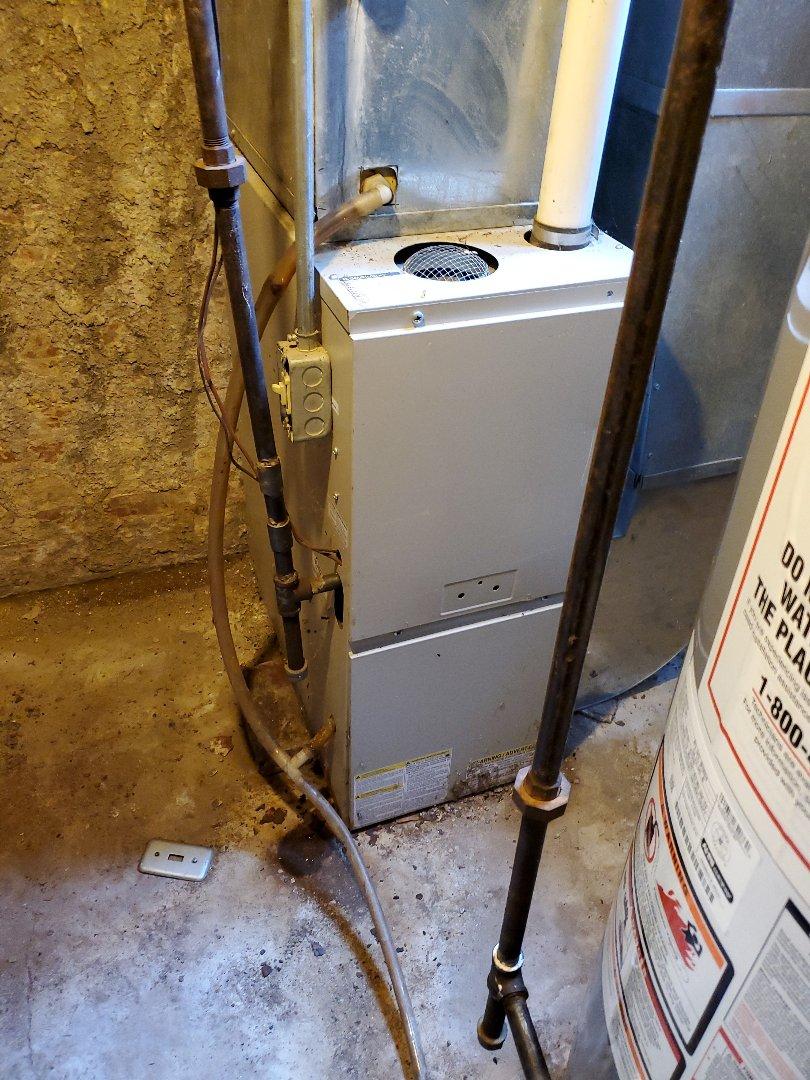 Bloomington, IL - Repair on tappan furnace