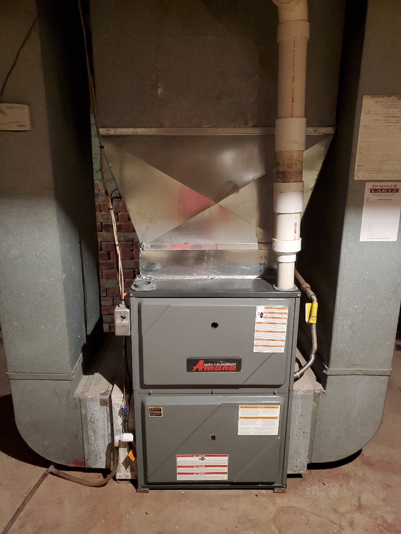 Ellsworth, IL - Install new amana furnace