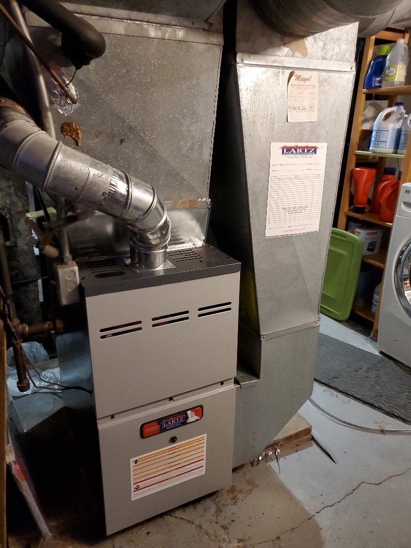 Normal, IL - Install new amana furnace