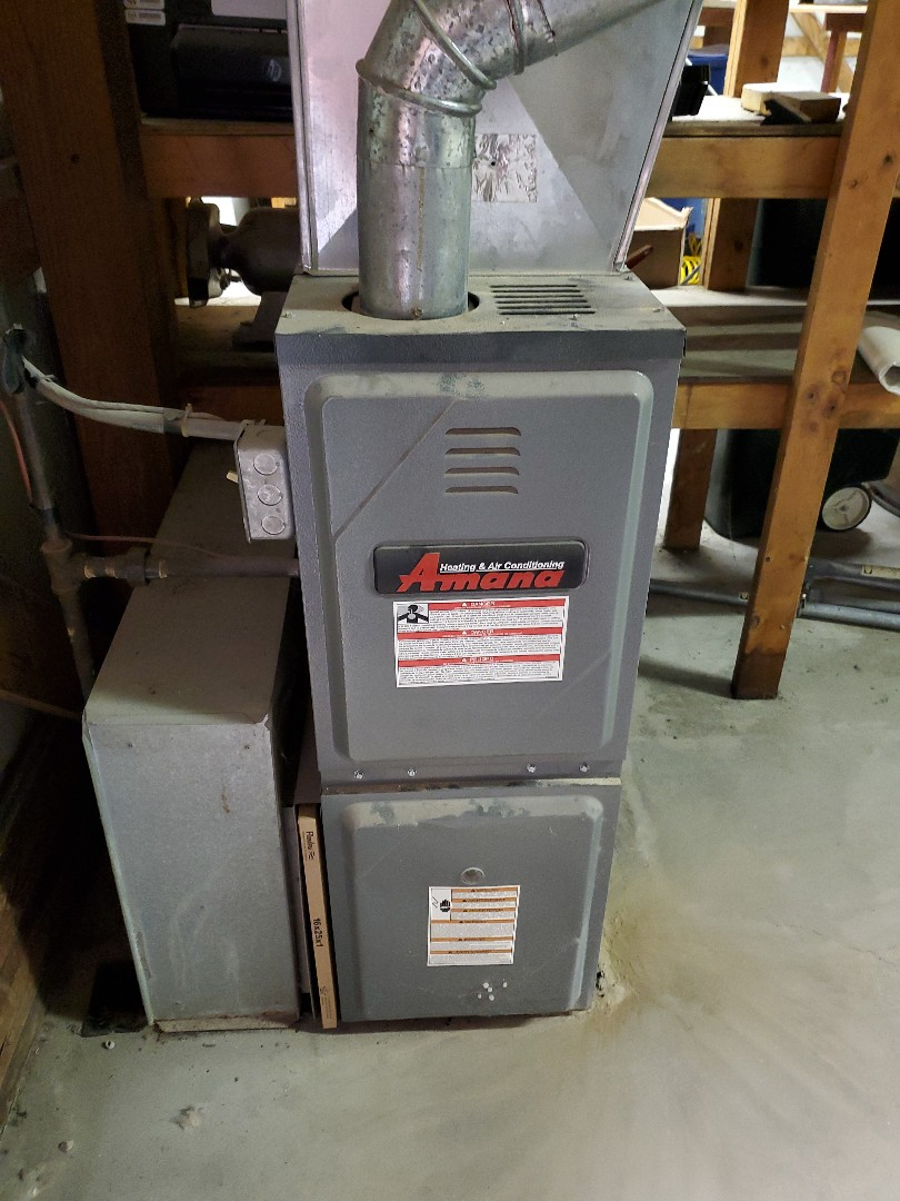 Lexington, IL - Repair on Amana furnace