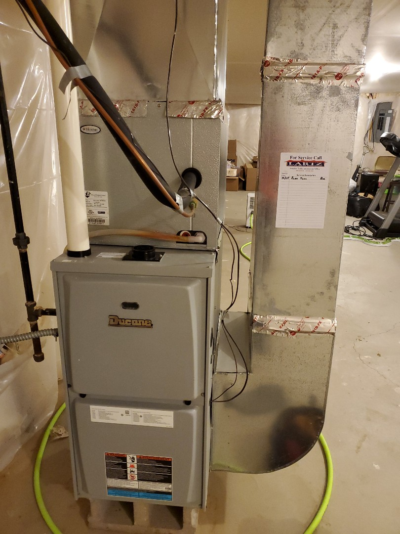 Bloomington, IL - Seasonal tune up on Ducane furnace