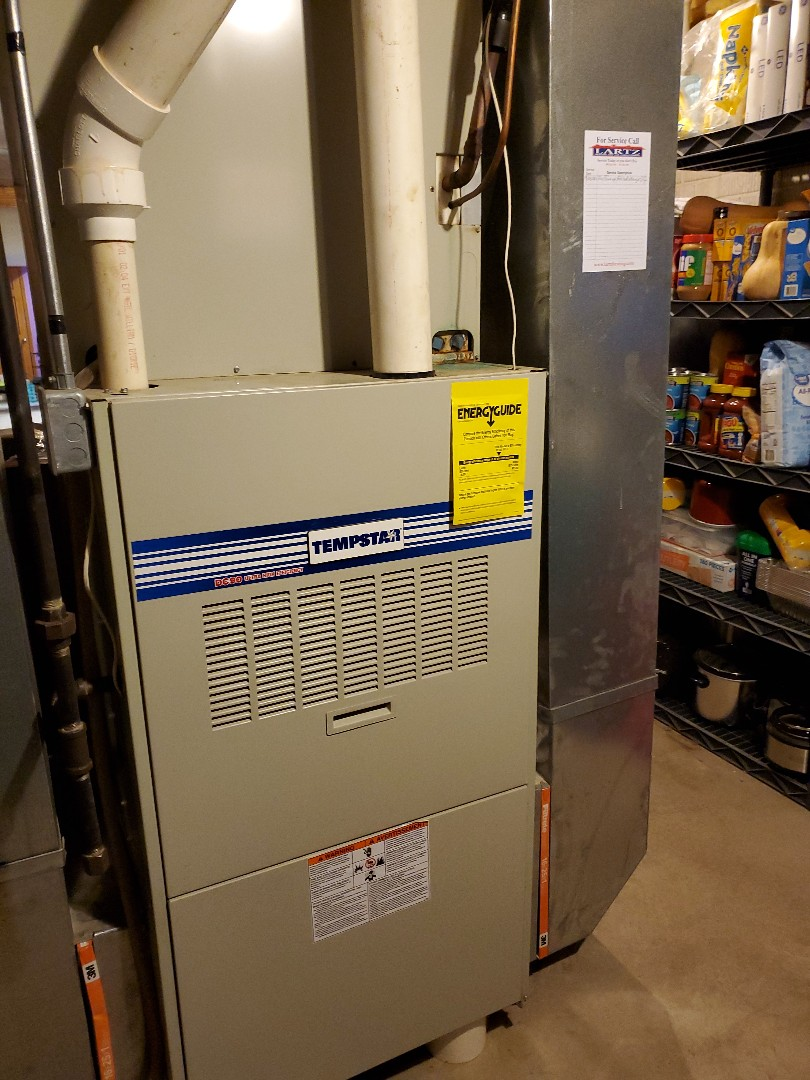 Bloomington, IL - Heat exchanger replacement on a tempstar furnace
