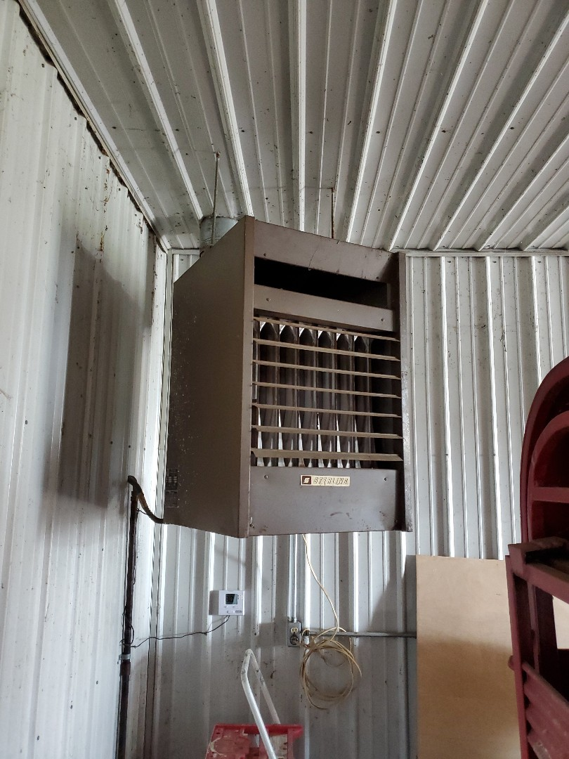 Tune up on sterling unit heater