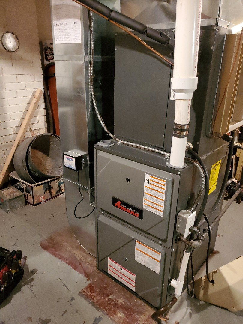 Bloomington, IL - Seasonal tune up on Amana furnace