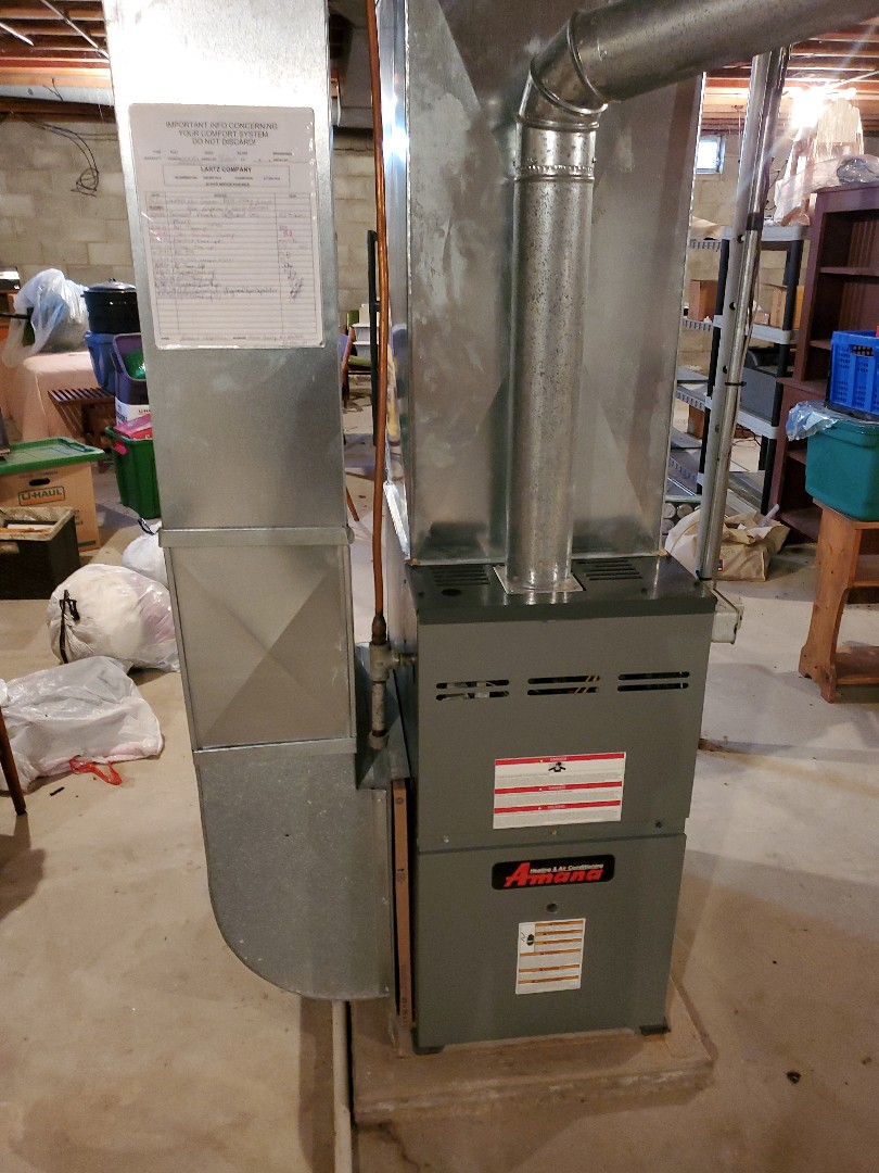 Hudson, IL - Seasonal tune up on Amana furnace