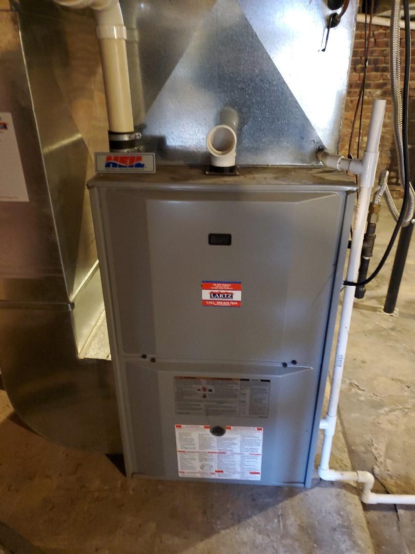 Colfax, IL - Seasonal tune up on heil furnace