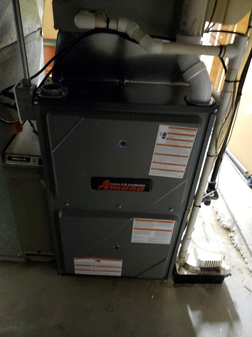 Bloomington, IL - Install Amana furnace