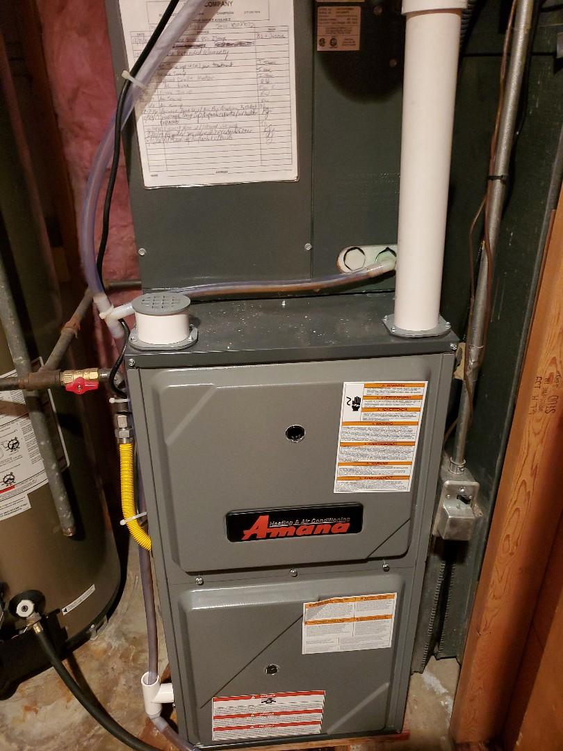 Normal, IL - Seasonal Tune up on Amana furnace