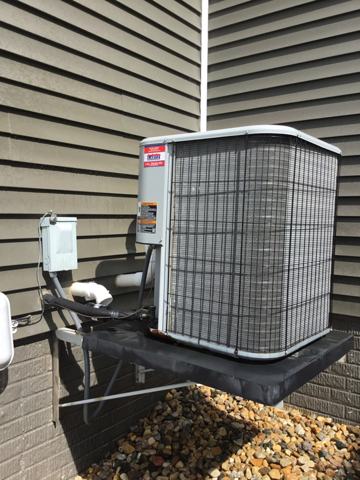 Bloomington, IL - Seasonal maintenance and Freon added to this Ducane AC.