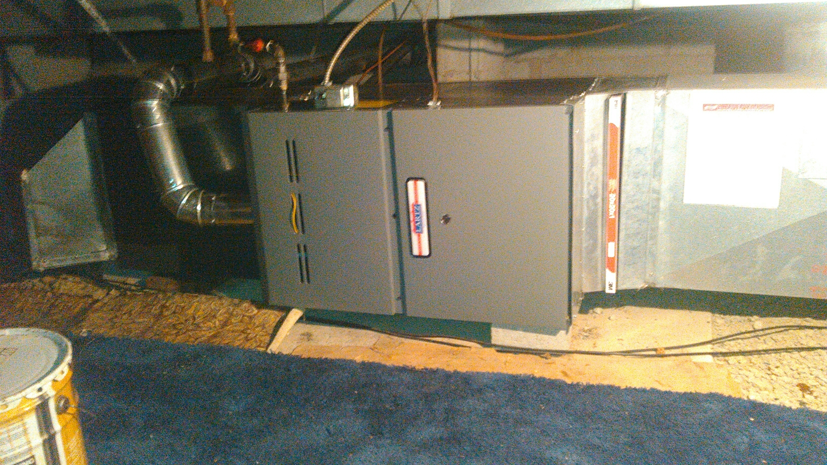 Lexington, IL - FURNACE INSTALL.  REPLACING YORK FURNACE WITH NEW LARTZ SIGNATURE SERIES 80 % 2 STAGE FURNACE