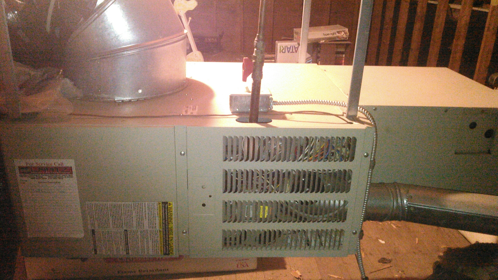 Armington, IL - Annual Heating Maintenance on a Gibson Horizontal Furnace