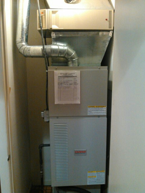 Champaign, IL - FURNACE TUNE UP ON A TAPPAN 80% COUNTER FLOW FURNACE