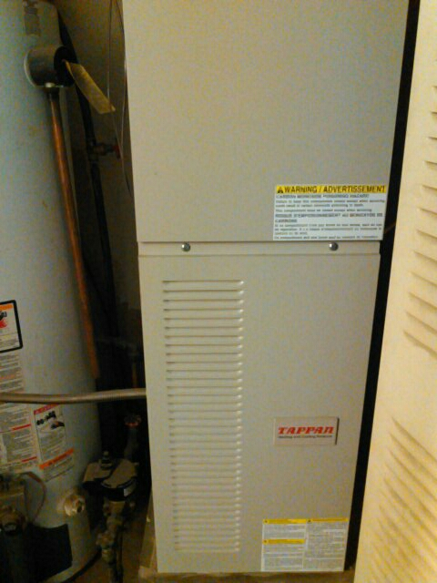 Urbana, IL - FURNACE TUNE UP ON TAPPAN 80% FURNACE.