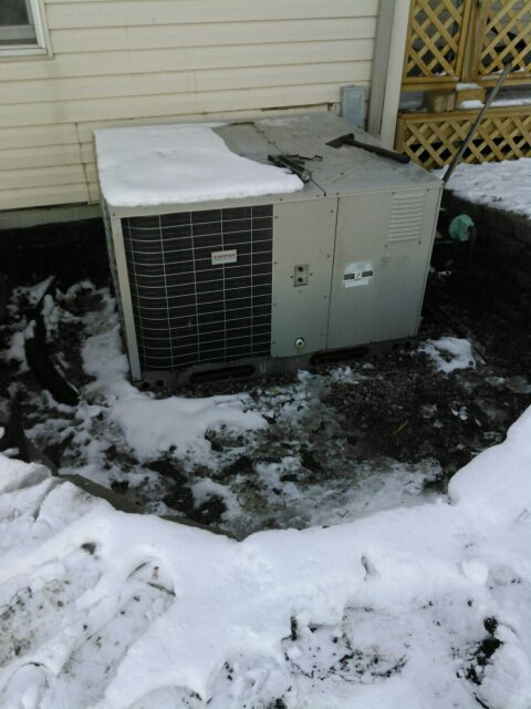 Colfax, IL - No heat Tappan package unit replaced bad thermostat