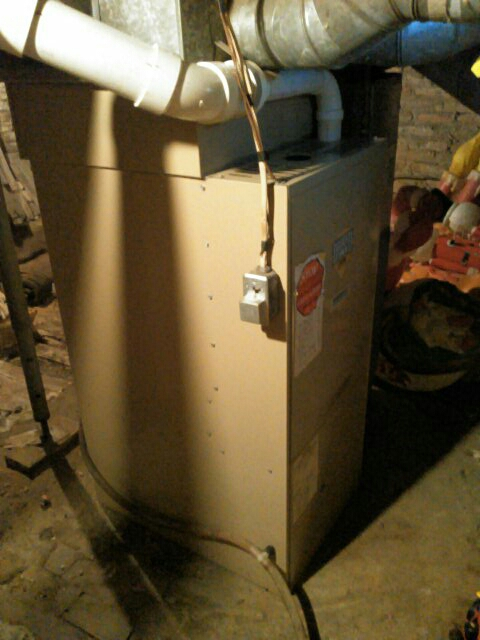Gridley, IL - ANNUAL SERVICE ON A YORK 90% FURNACE.