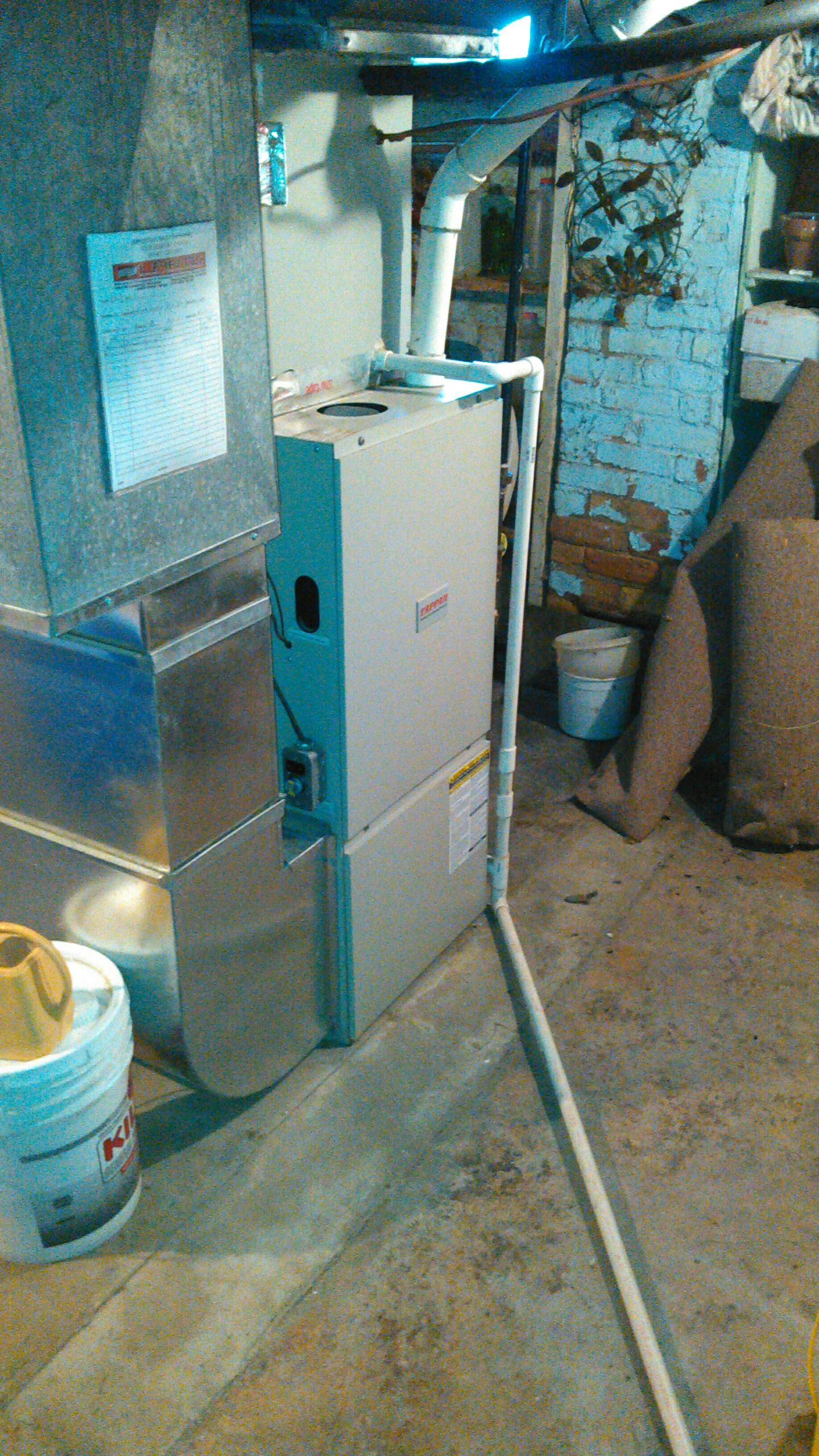 Downs, IL - FURNACE REPAIR.  REPLACED BURNERS