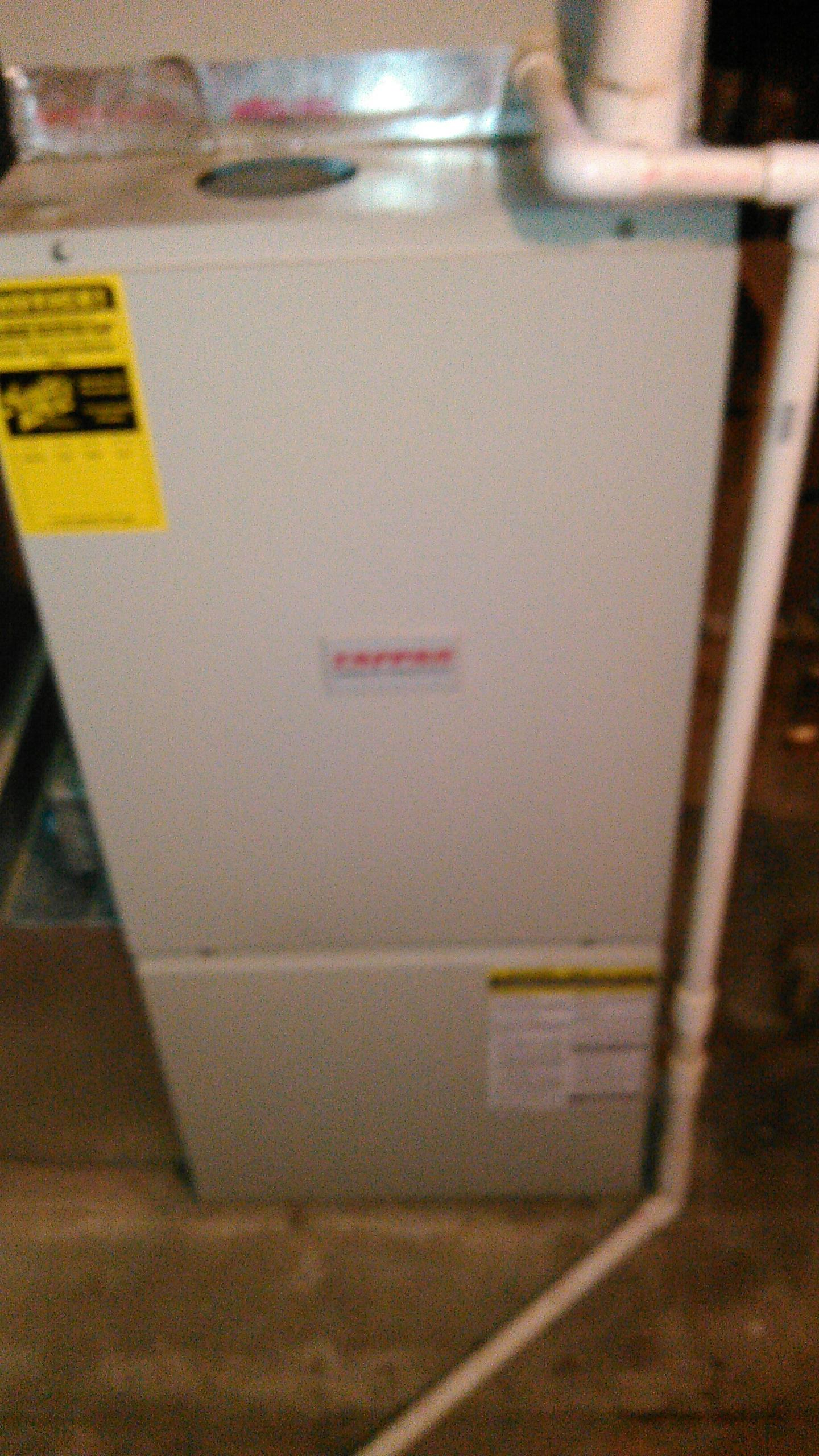 Cooksville, IL - TUNE UP ON TAPPAN 90% HIGH EFFICIENCY FURNACE