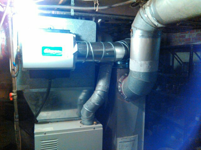 Congerville, IL - INSTALL OF A BY PASS GENERAL AIRE WHOLE HOUSE HUMIDIFIER